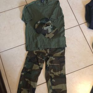 Other - Army Halloween costume